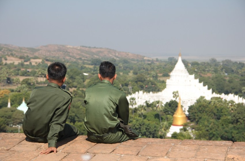 Shooting Death, Raid of Protester's Grave Spark Anger in Myanmar's Mandalay