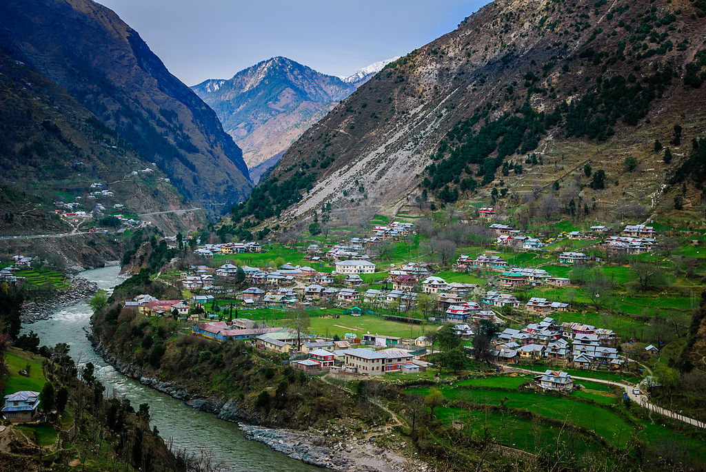 Neelum Valley in Kashmir, India