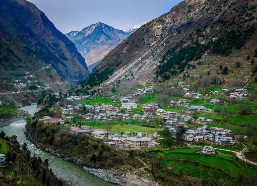 Neelum Valley in Kashmir, India