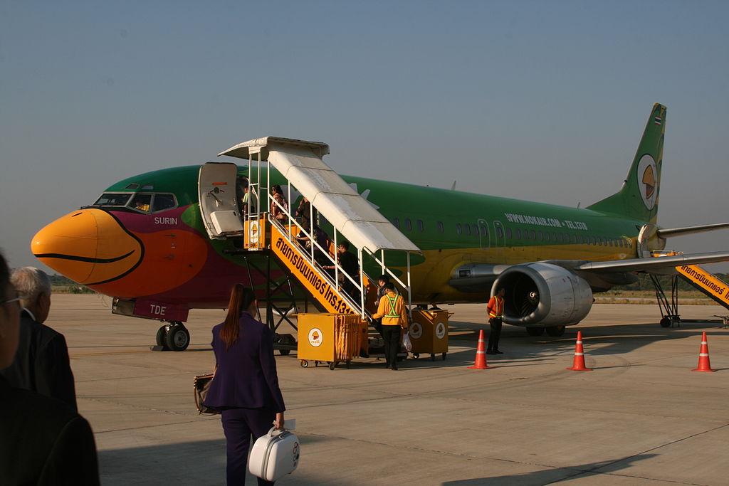 Nok Air Boeing 737-400, Phitsanulok