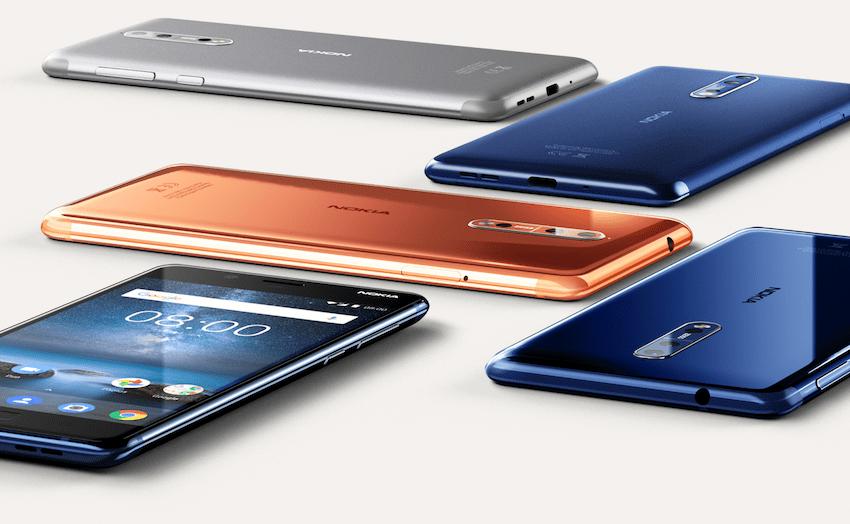 Nokia 8 flagship lets you livestream 'frontbacks'