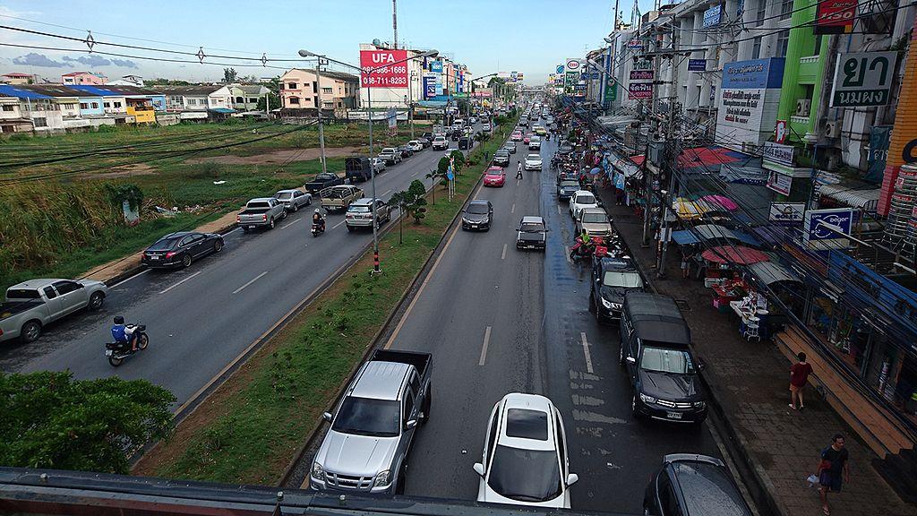 Bang-Kruai-Sai Noi Rd. in Nonthaburi
