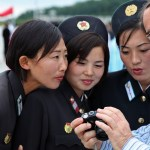 Military women in North Korea