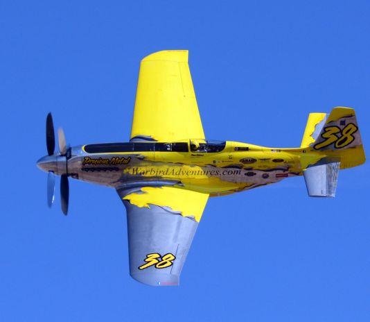 XRP 51D Mustang plane at Reno Air Race