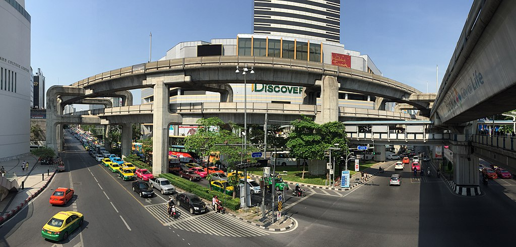 Pathum Wan District in Bangkok