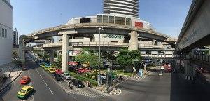 Pathum Wan District in Bangkok