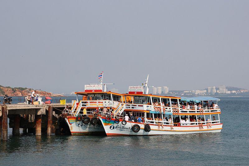 Pattaya to Hua Hin Ferry Ready to Go