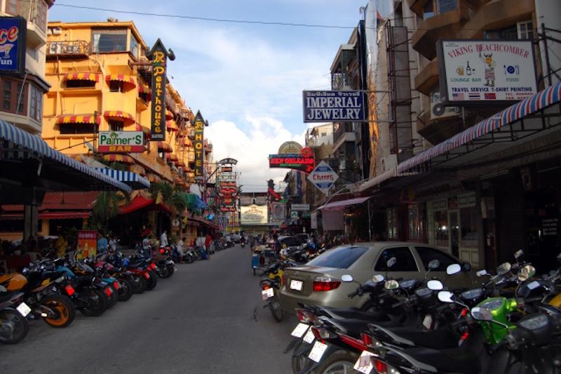 Soi 8 in Pattaya, actually Soi 13/4