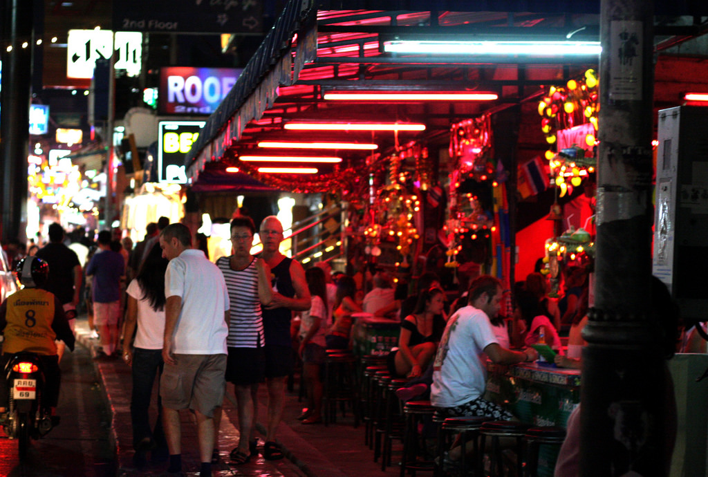 Bars in Walking Street, Pattaya