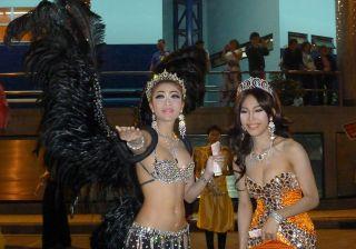 Two Kathoey (Ladyboys) in Pattaya