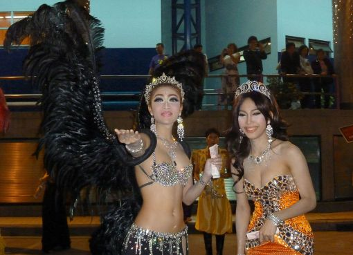 Two Kathoey (Ladyboys) in Pattaya