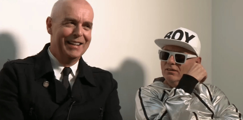 Synthpop British duo Pet Shop Boys