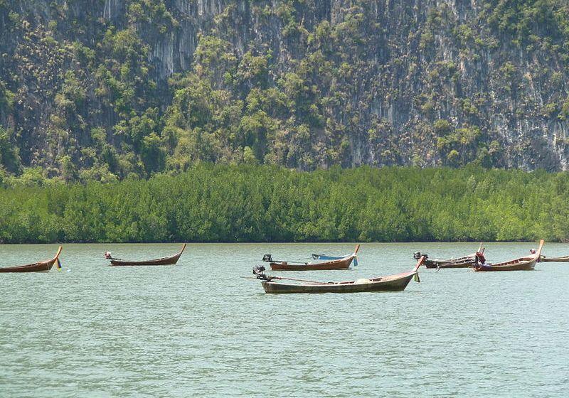 Ao Phang Nga National Park in Phang Nga Bay