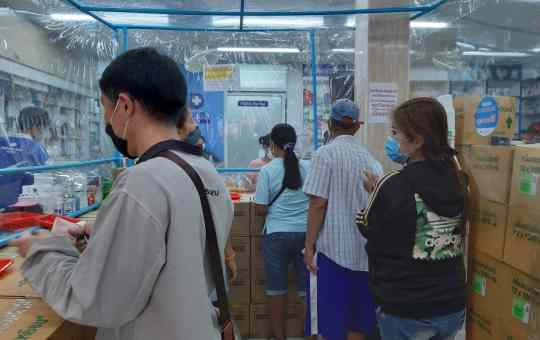 Preventive measure in a pharmacy in Thailand during COVID-19 pandemic