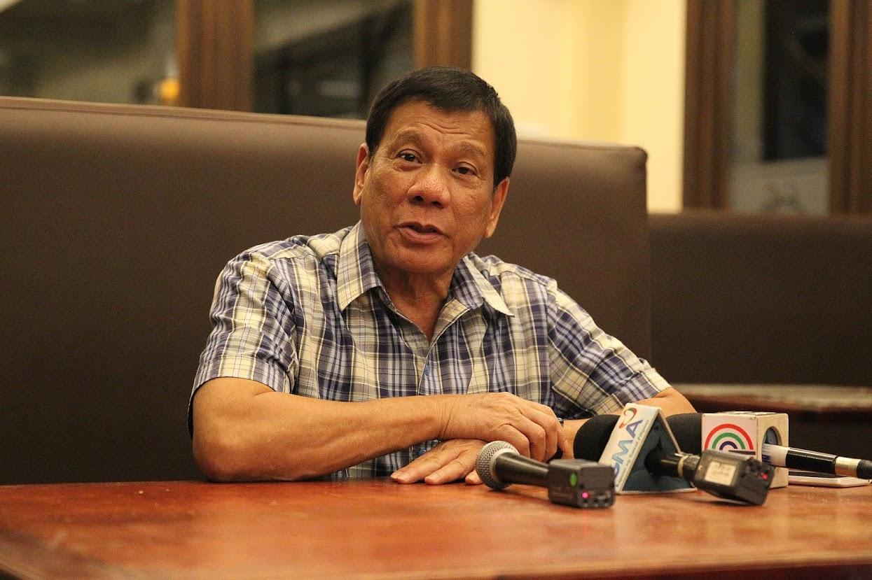 Philippine President Duterte Says Illnesses Taking Toll on Him