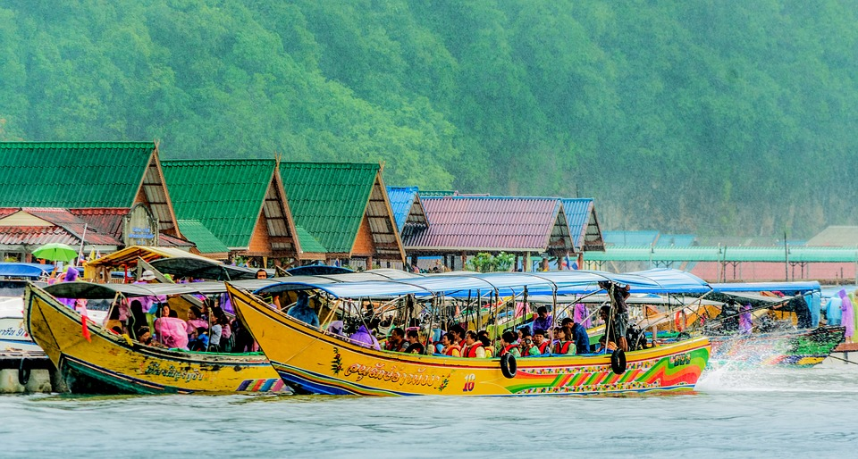 Tourist boats in Phuket