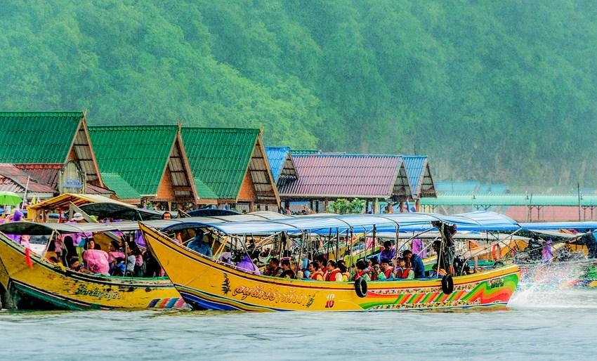 Tourist boats in Phuket