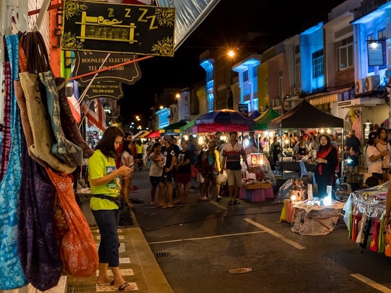 Phuket night market