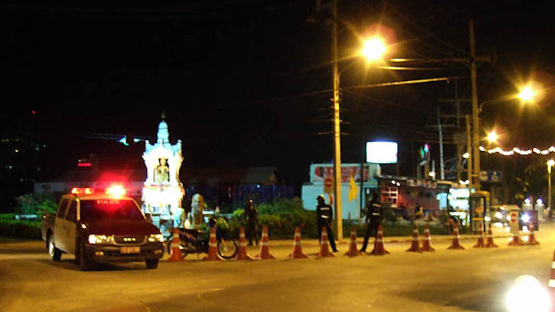 Phuket Police campaign against foreign drivers without international driving license