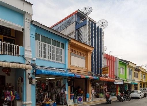 Houses in Thalang Road, Phuket