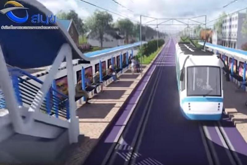 Phuket light rail running another two years late