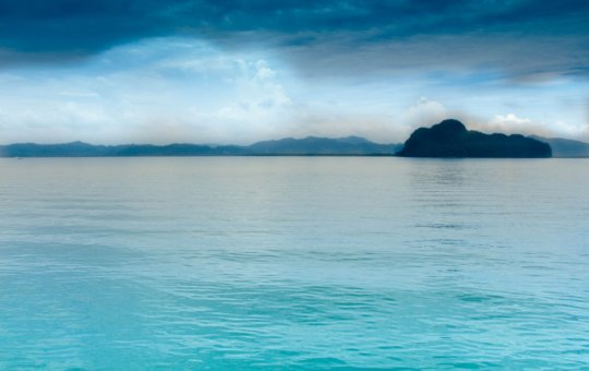 Amazing view of the sea in Phuket