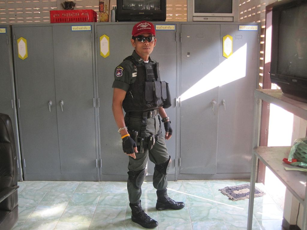 Thai Border Patrol Police uniform