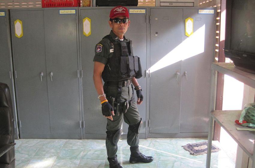 Thai Border Patrol Police uniform