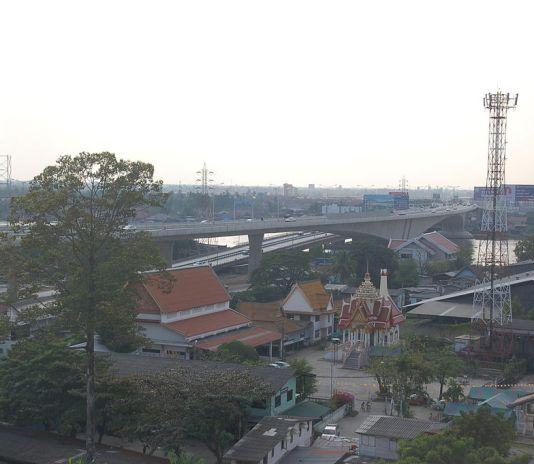 Pranangklao Bridge, Nonthaburi