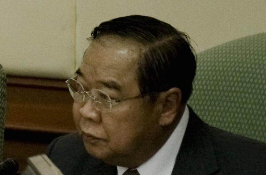 Deputy Prime Minister and Minister of Defense Gen Prawit Wongsuwan