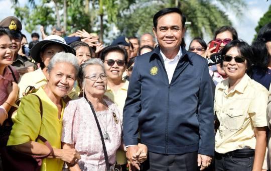 Prime Minister of Thailand Prayut Chan-ocha during a visit