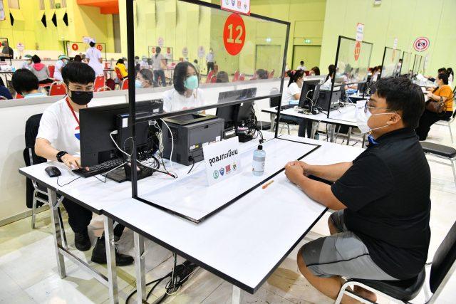The Mall Bangkapi COVID-19 Vaccination Site, Bangkok