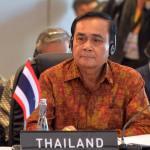 Gen. Prayuth Chan-ocha attending ASEAN leaders' gathering