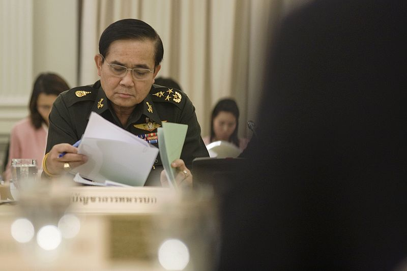 Thai PM General Prayut Chan-ocha in 2010