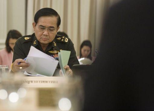 Thai PM General Prayut Chan-ocha in 2010
