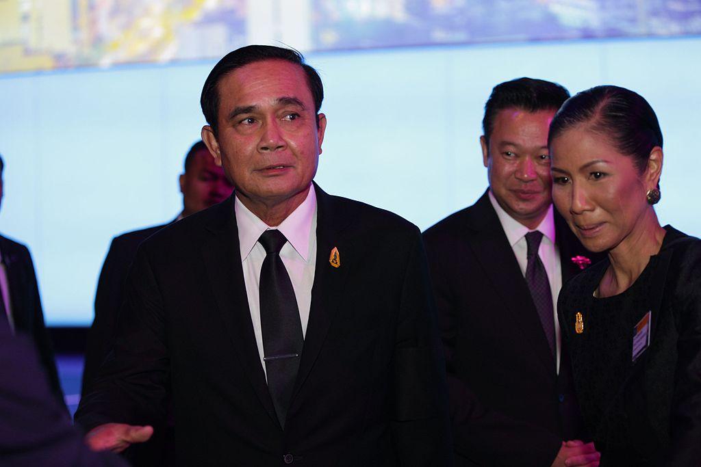 Prayut Chan-o-cha & H.E. Kobkarn Wattanavrangkul, Minister of Tourism & Sports
