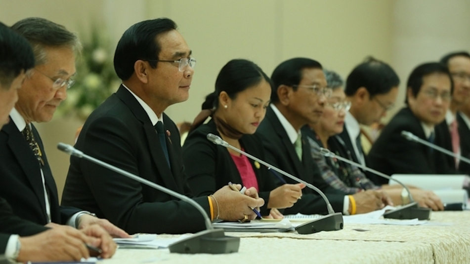 Dmitry Medvedev's talks with Prime Minister of Thailand Prayut Chan-o-cha