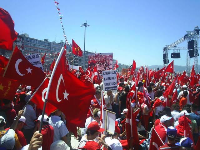 Police Raid Anti-Erdogan Rally in Istanbul