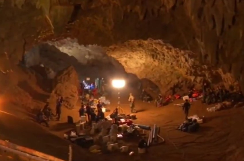 """Tham Luang cave rescue: """"Wild Boars"""" the movie?"""