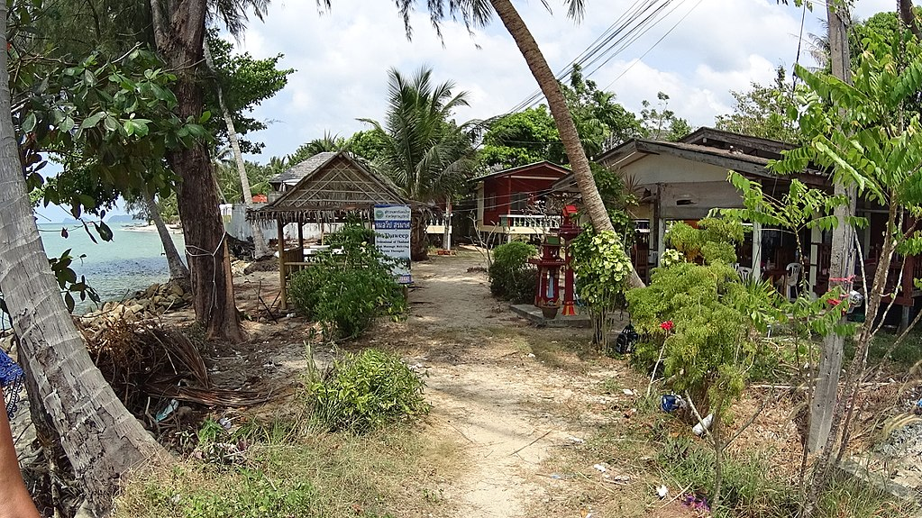 A path in Koh Phangan