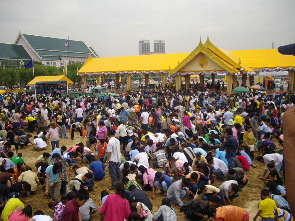 Royal Ploughing Ceremony in Bangkok