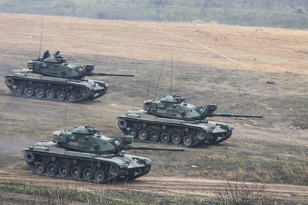 Royal Thai Armed Forces M60A1 tanks