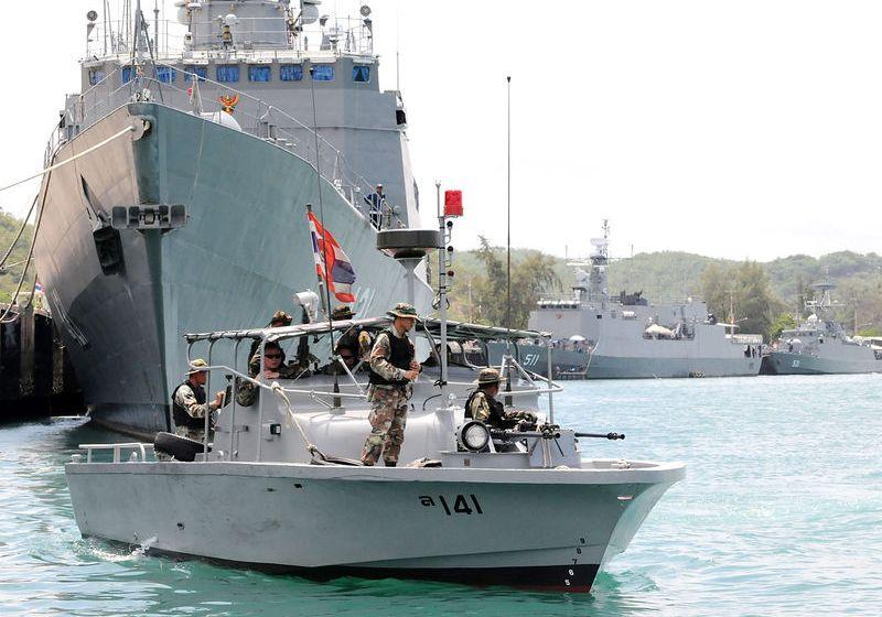 Royal Thai Navy ready for quarantine at Sattahip