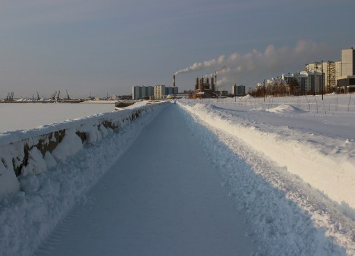 View of Siberia in Russia