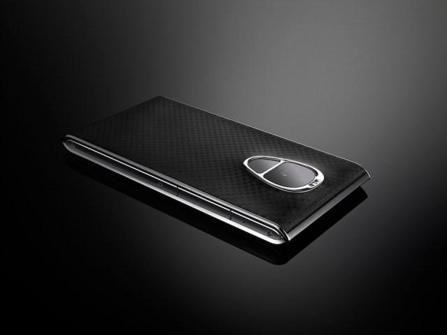 SOLARIN Smartphone Black. Image: Sirin Labs.