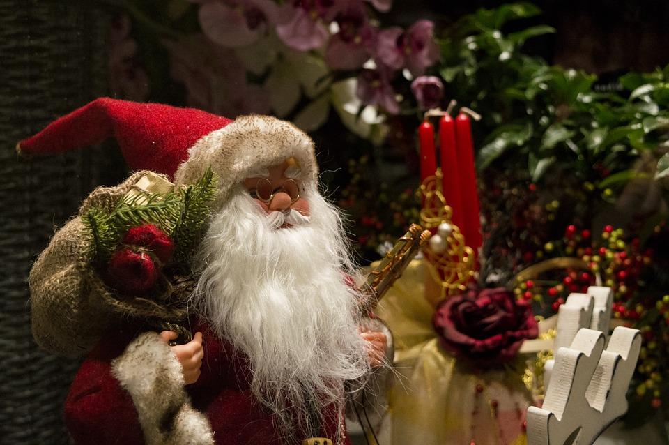 Christmas with Santa Claus, also known as Saint Nicholas