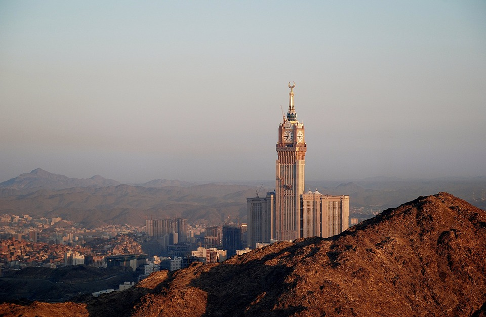 Buildings in Mecca