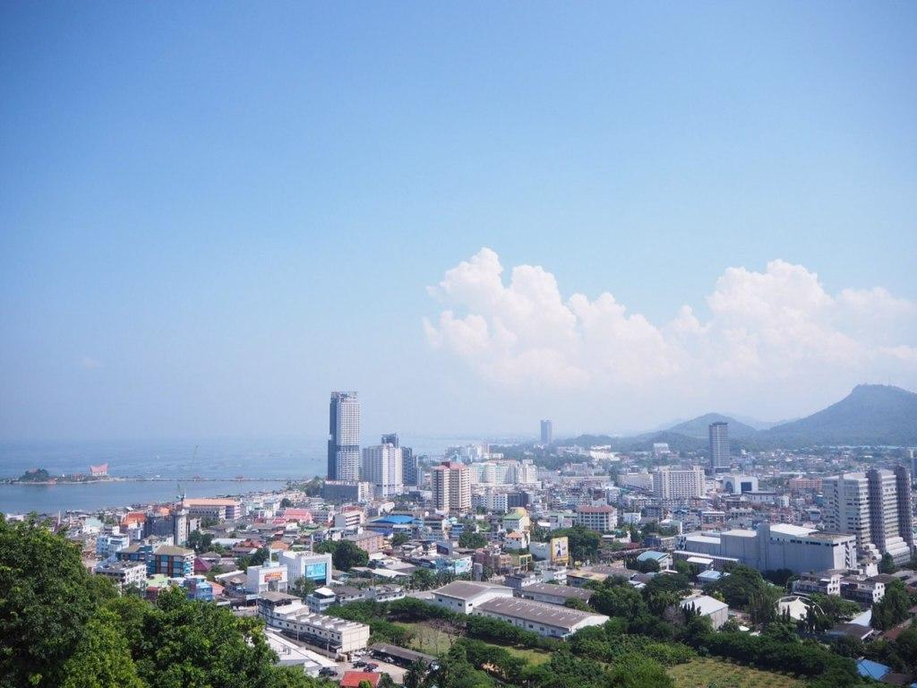 Sri Racha city skyline