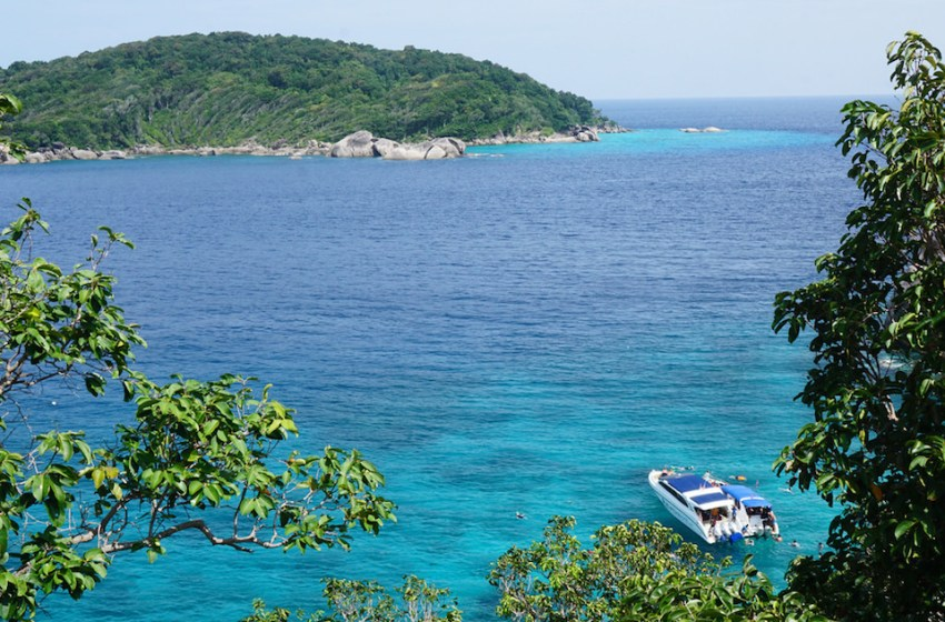 Similan Islands to Be Closed for Five Months