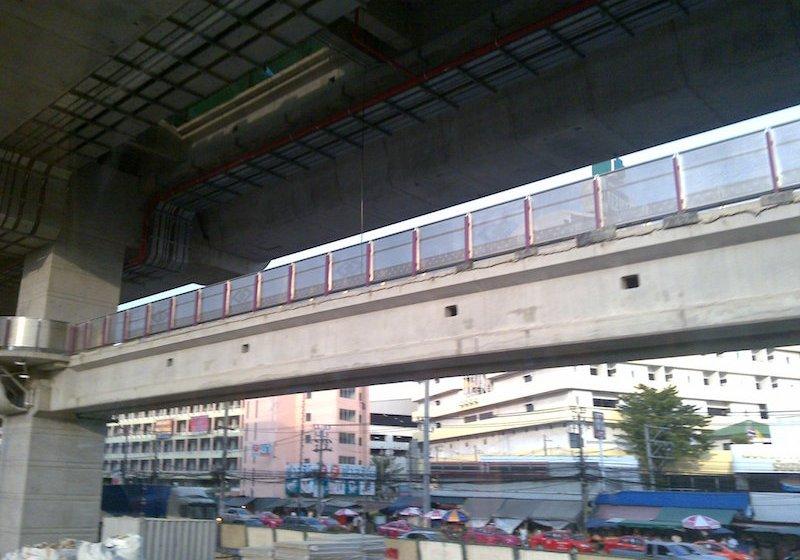 The MRT Purple Line in Bangkok